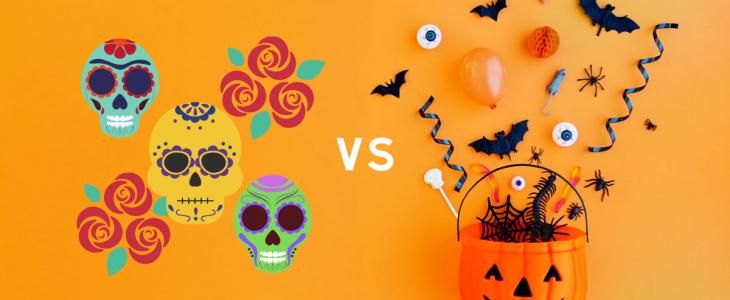 Halloween vs Dia De Los Muertos, Day of the Dead
