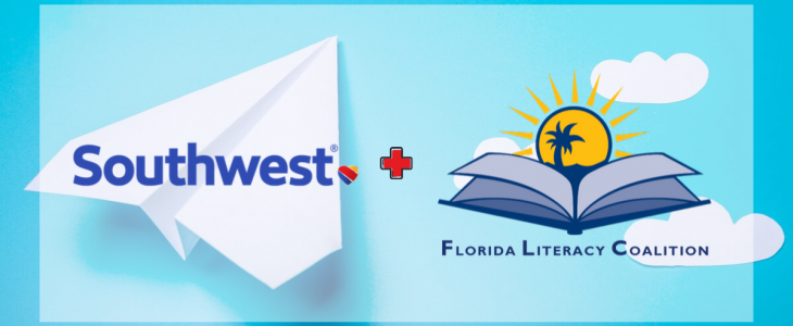 Southwest Airlines and the Florida Literacy Coalition present the 2019 Southwest Airlines Ticket Contest