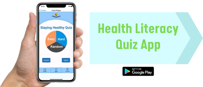 The all-new Staying Healthy Quiz app is available for free on the Google Play Store!